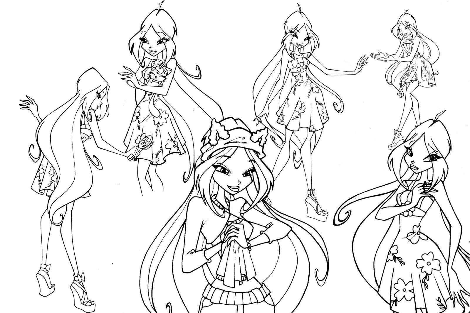 Новые игры для девочек онлайн раскраски