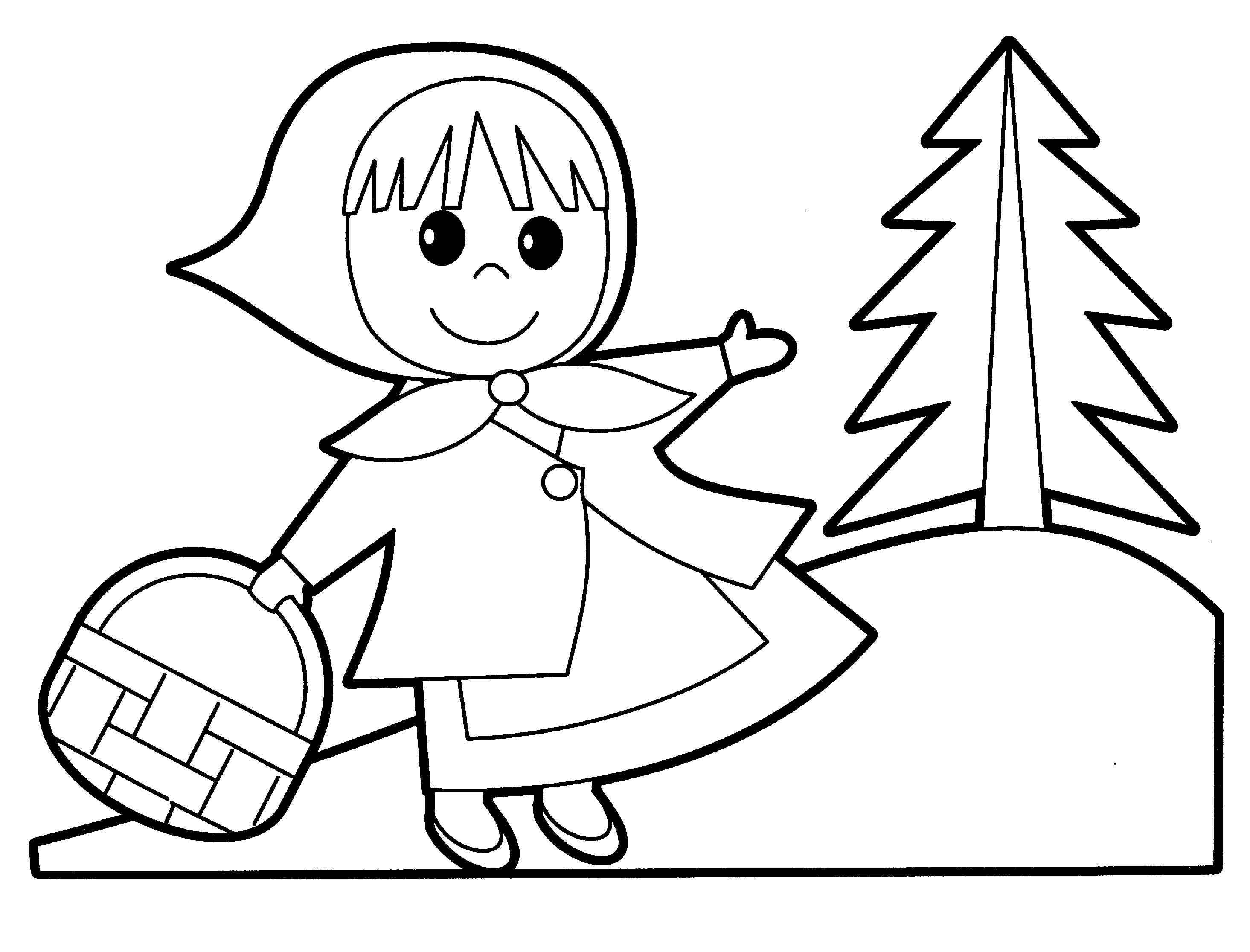 coloring pages of poeple - photo#16