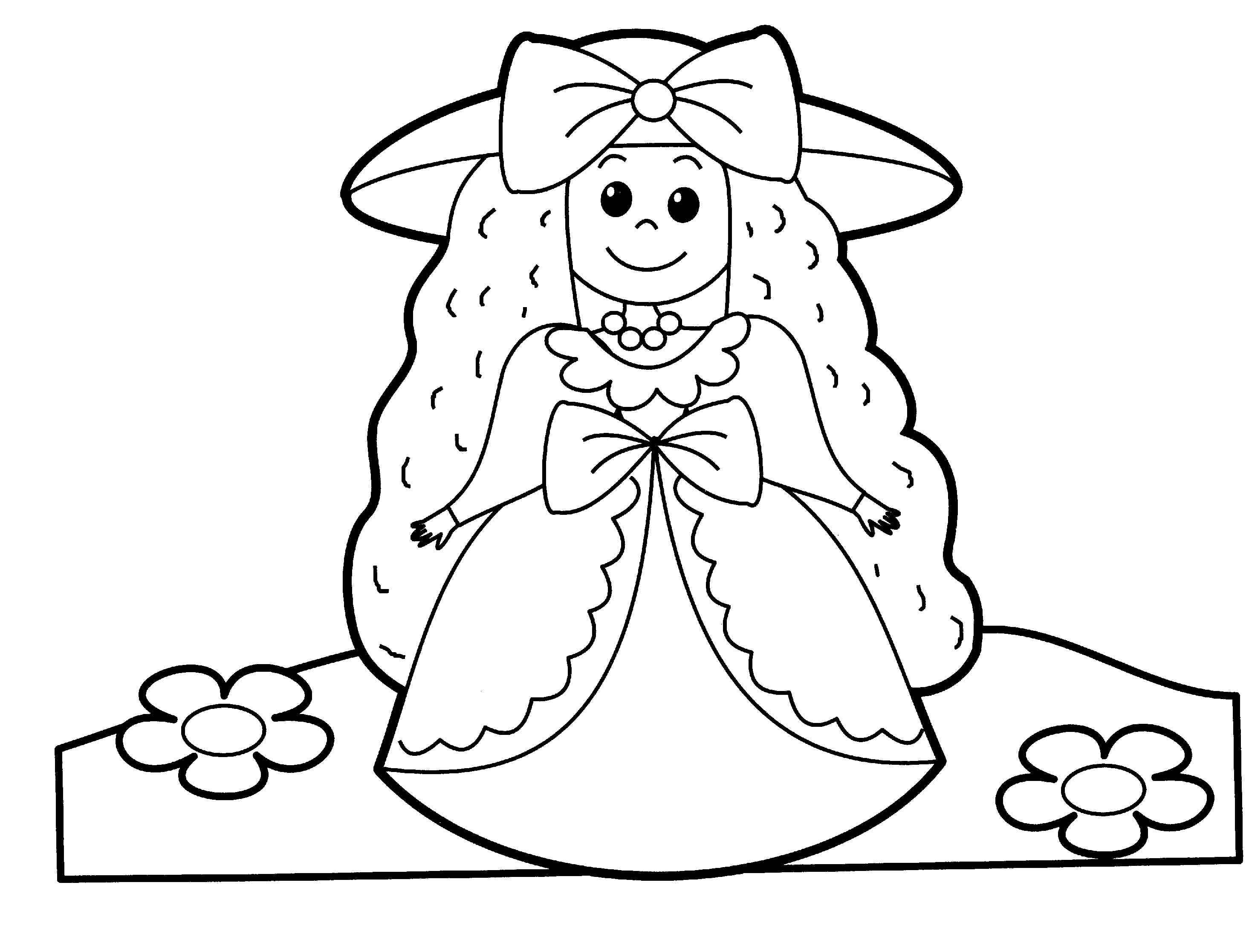 for Little people coloring pages